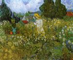 vincent van gogh marguerite gachet in the garden painting