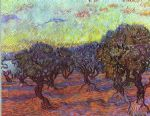 olive grove by vincent van gogh painting