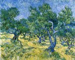 olive grove ii by vincent van gogh painting