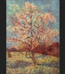 peach tree in bloom by vincent van gogh painting