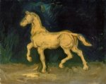 vincent van gogh plaster statuette of a horse paintings