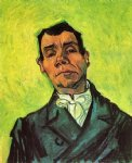 portrait paintings - portrait of a man by vincent van gogh
