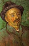portrait paintings - portrait of a one by vincent van gogh