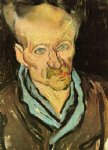 portrait paintings - portrait of a patient in saint by vincent van gogh