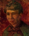 vincent van gogh portrait of a woman v paintings