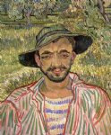 vincent van gogh portrait of a young peasant painting 23634