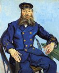 portrait paintings - portrait of joseph roulin viii by vincent van gogh