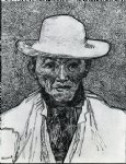portrait paintings - portrait of patience escalier by vincent van gogh
