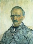 portrait paintings - portrait of trabuc by vincent van gogh