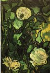 vincent van gogh roses and beetle painting 23680