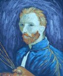 portrait paintings - self portrait 1889 by vincent van gogh
