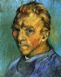 portrait paintings - self portrait iii by vincent van gogh