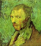 portrait paintings - self portrait iv by vincent van gogh