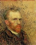 portrait paintings - self portrait vi by vincent van gogh