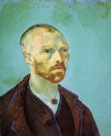 portrait paintings - self portrait viii by vincent van gogh