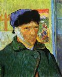 vincent van gogh self portrait with bandaged ear painting 23696