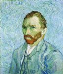 portrait paintings - self portrait by vincent van gogh