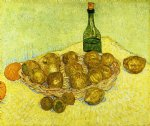 vincent van gogh still life with a bottle lemons and oranges painting 23719