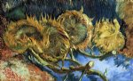 vincent van gogh still life with four sunflowers paintings