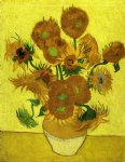 vincent van gogh still life with sunflowers vii painting