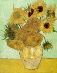 sunflowers by vincent van gogh painting