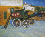tarascon diligence by vincent van gogh painting