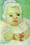 vincent van gogh the baby marcelle roulin painting-23768