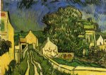 vincent van gogh the house of pere pilon paintings