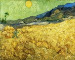vincent van gogh the reaper paintings