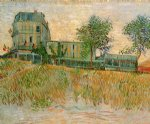 vincent van gogh the restaurant de la sirene at asnieres painting