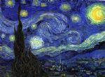 the starry night by vincent van gogh painting-84224