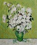 vincent van gogh vase with roses ii painting 23897