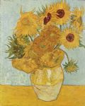 vase with twelve sunflowers 1888 by vincent van gogh painting