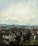 vincent van gogh view of paris from near montmartre painting-23914