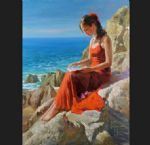 seaside sonnet by vladimir volegov paintings