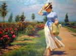 vladimir volegov tuesdays stroll paintings