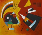 wassily kandinsky black and violet 1923 ii painting