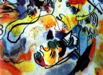 wassily kandinsky last judgement oil painting