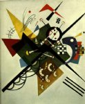 on white ii by wassily kandinsky painting