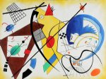 throughgoing line ii by wassily kandinsky painting