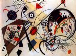 wassily kandinsky throughgoing line painting