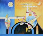 torre de kiev particolare by wassily kandinsky paintings-23328