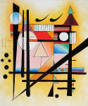 untitled by wassily kandinsky painting