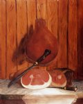 smoked ham at the bonnie crest inn north carolina by william aiken walker painting