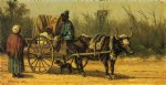 william aiken walker traveling by ox cart posters