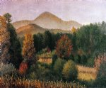 william aiken walker wooded mountain scene in north carolina ii posters