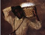 william aiken walker young boy with cotton basket on shoulders posters