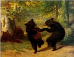 dancing bears by william beard painting