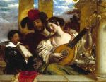 the duet by william etty painting-83538