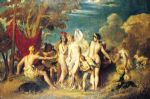 the judgement of paris by william etty painting-83772